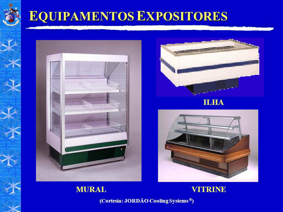 EQUIPAMENTOS EXPOSITORES