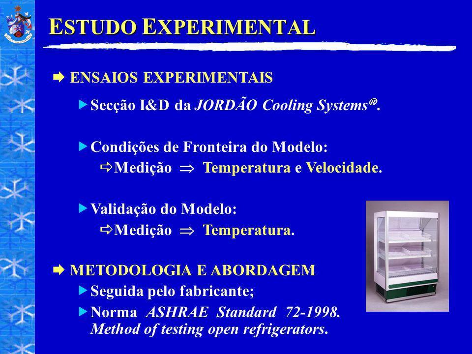 ESTUDO EXPERIMENTAL ENSAIOS EXPERIMENTAIS