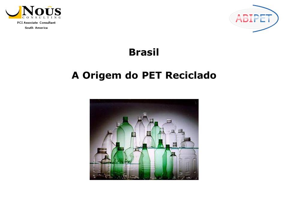 Brasil A Origem do PET Reciclado