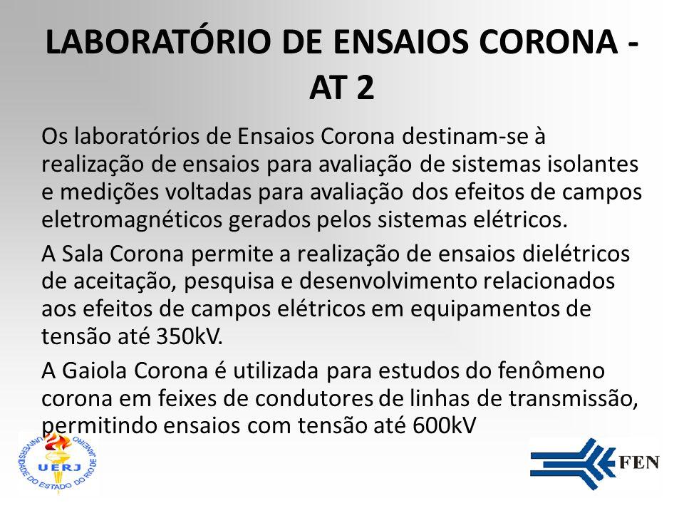 LABORATÓRIO DE ENSAIOS CORONA - AT 2