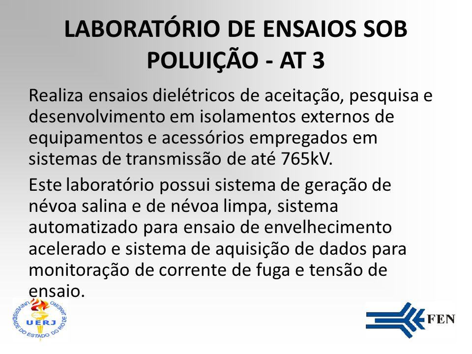 LABORATÓRIO DE ENSAIOS SOB POLUIÇÃO - AT 3