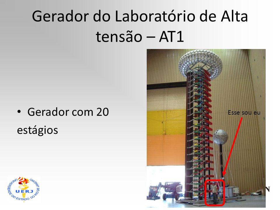 Gerador do Laboratório de Alta tensão – AT1