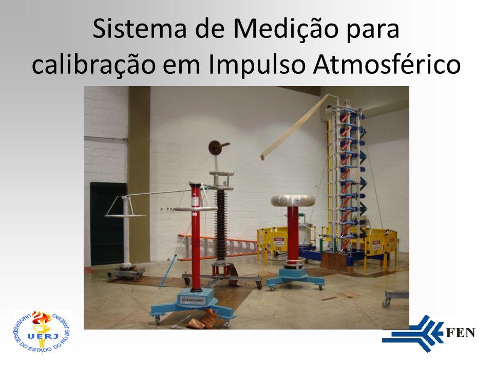 Sistema de Medição para calibração em Impulso Atmosférico