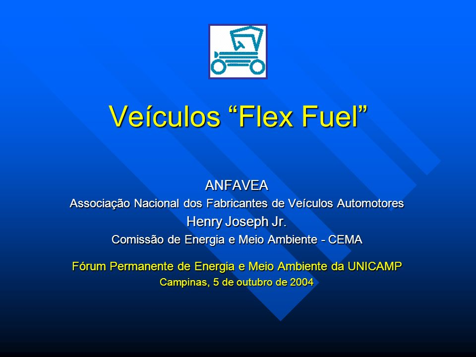 Veículos Flex Fuel ANFAVEA Henry Joseph Jr.