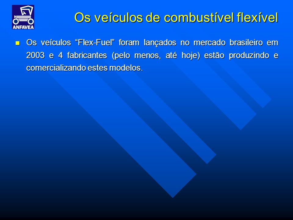 Os veículos de combustível flexível