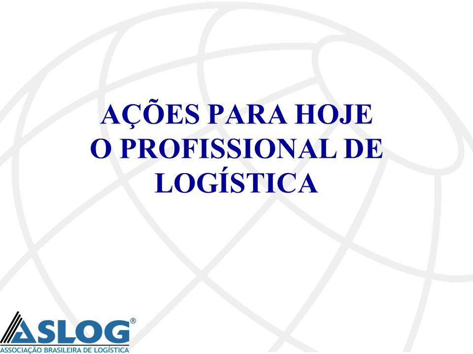 AÇÕES PARA HOJE O PROFISSIONAL DE LOGÍSTICA