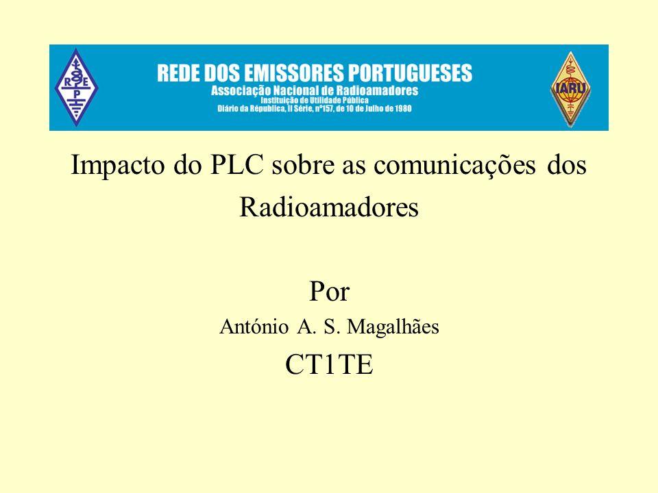 Impacto do PLC sobre as comunicações dos