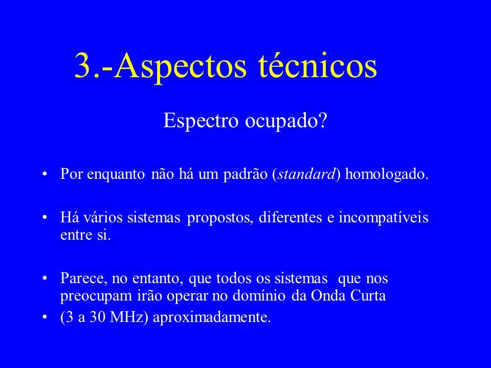 3.-Aspectos técnicos Espectro ocupado