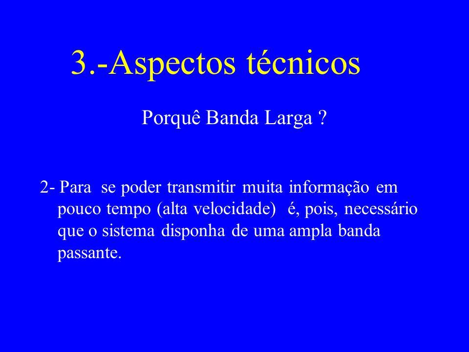 3.-Aspectos técnicos Porquê Banda Larga