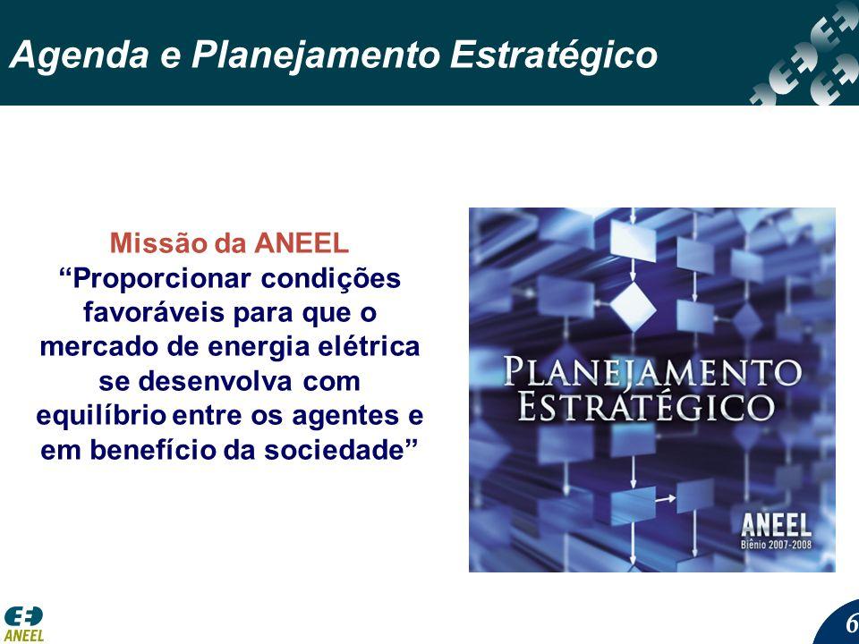 Agenda e Planejamento Estratégico