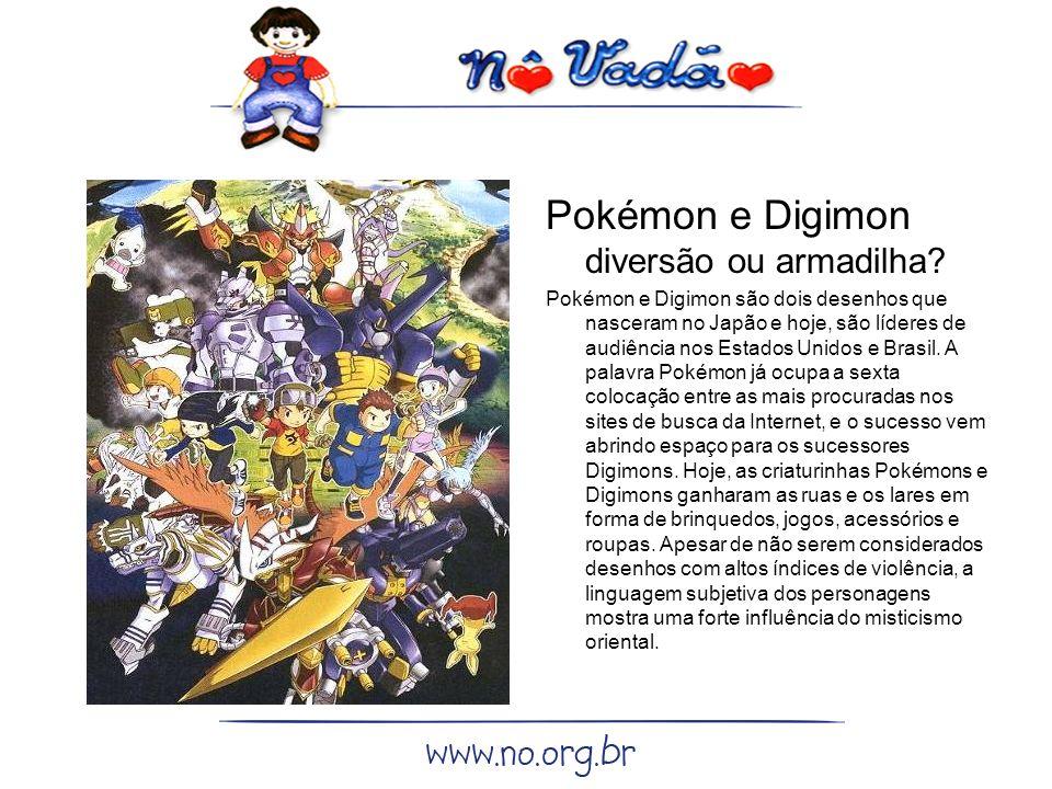 Pokémon e Digimon diversão ou armadilha