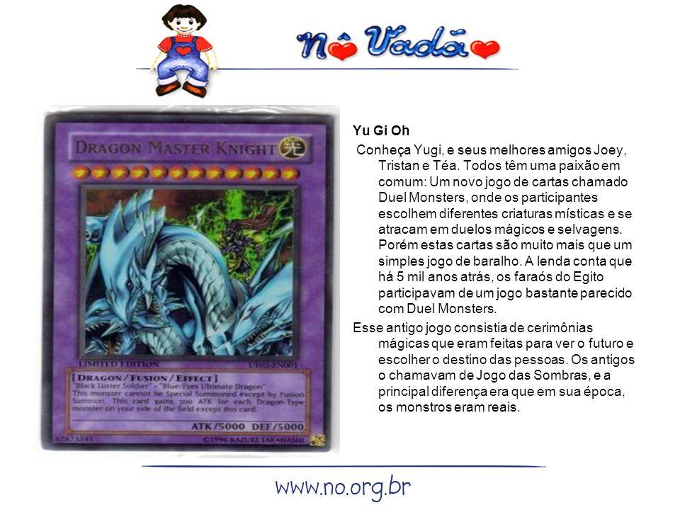 Yu Gi Oh Conheça Yugi, e seus melhores amigos Joey, Tristan e Téa