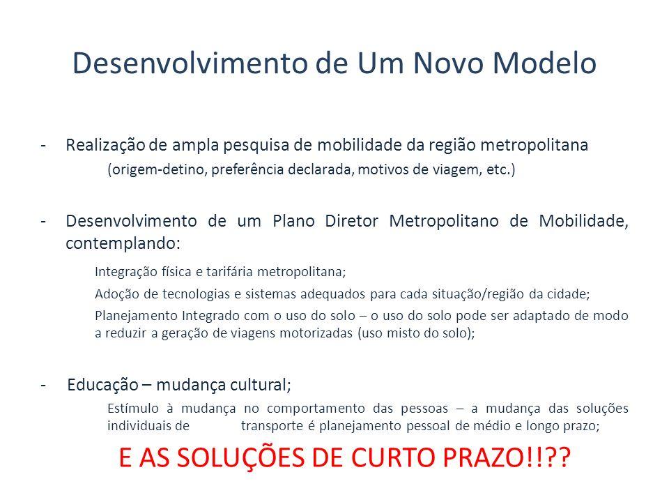Desenvolvimento de Um Novo Modelo