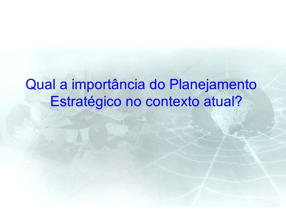 Qual a importância do Planejamento Estratégico no contexto atual