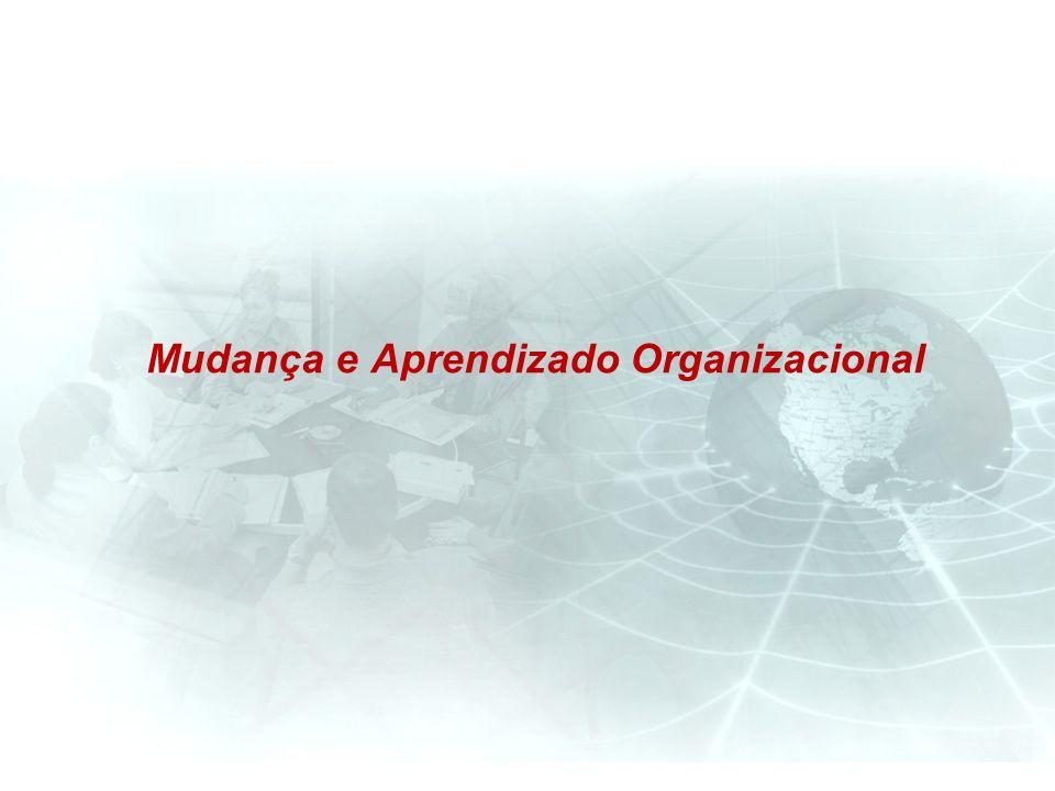 Mudança e Aprendizado Organizacional