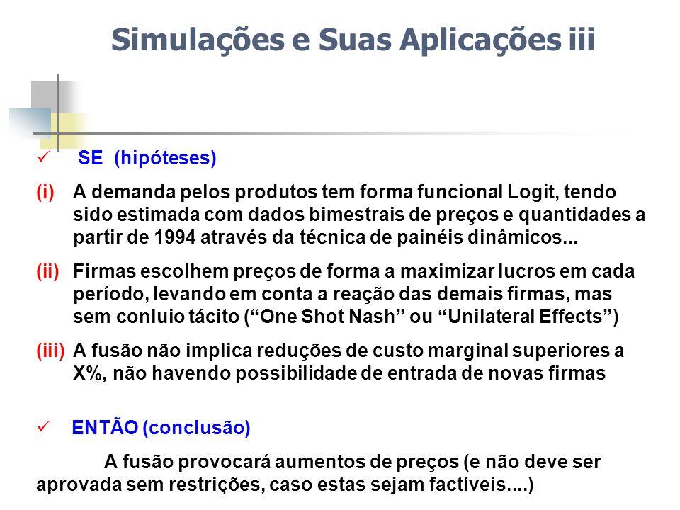 Simulações e Suas Aplicações iii