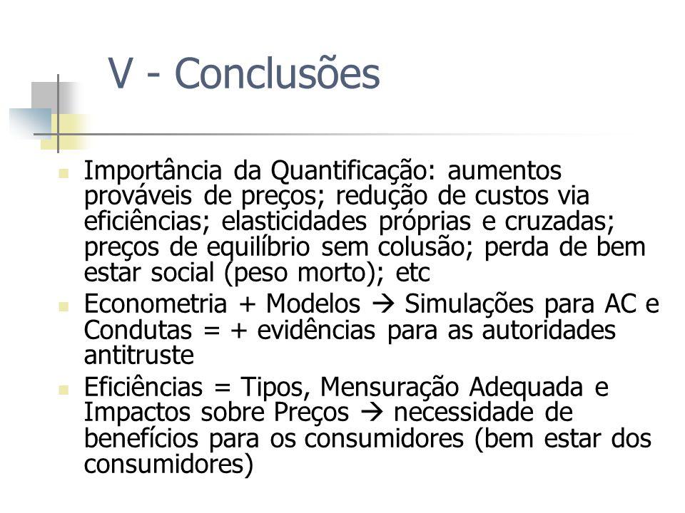 V - Conclusões