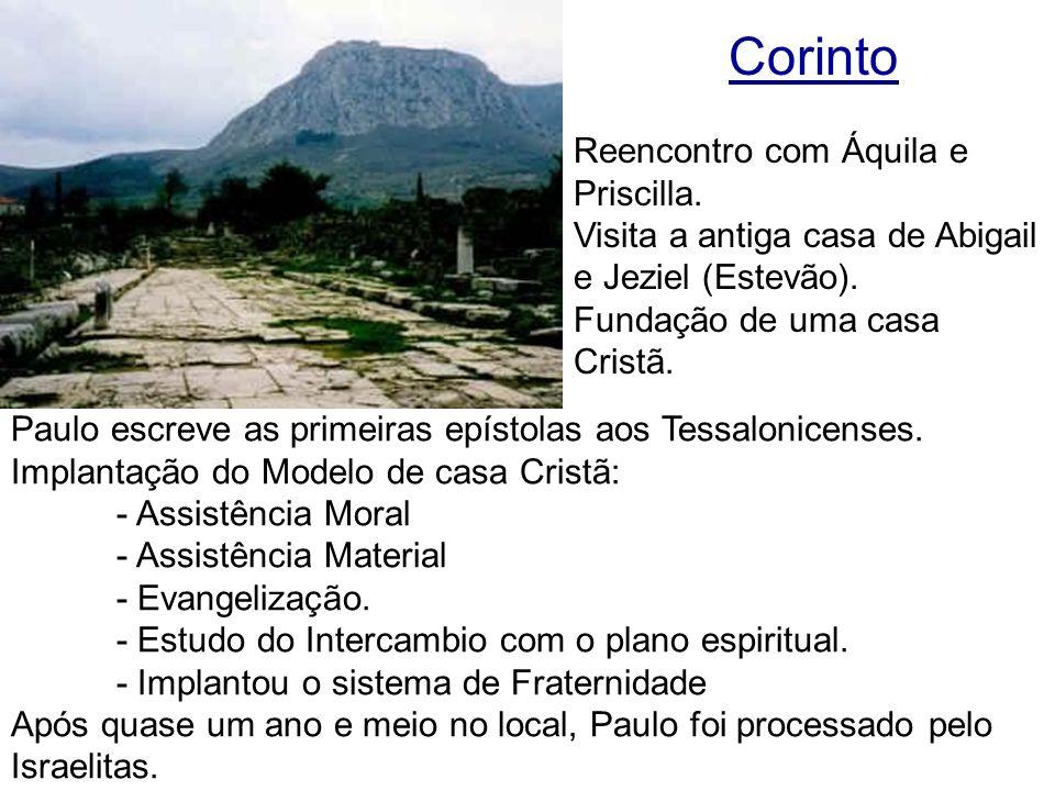 Corinto Reencontro com Áquila e Priscilla.