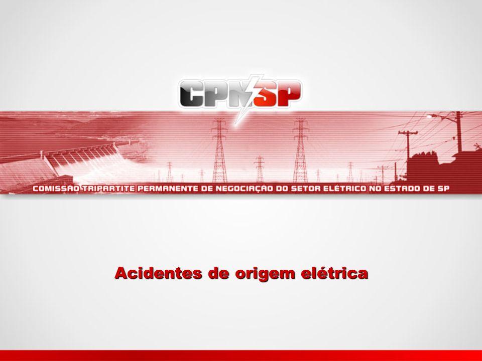 Acidentes de origem elétrica