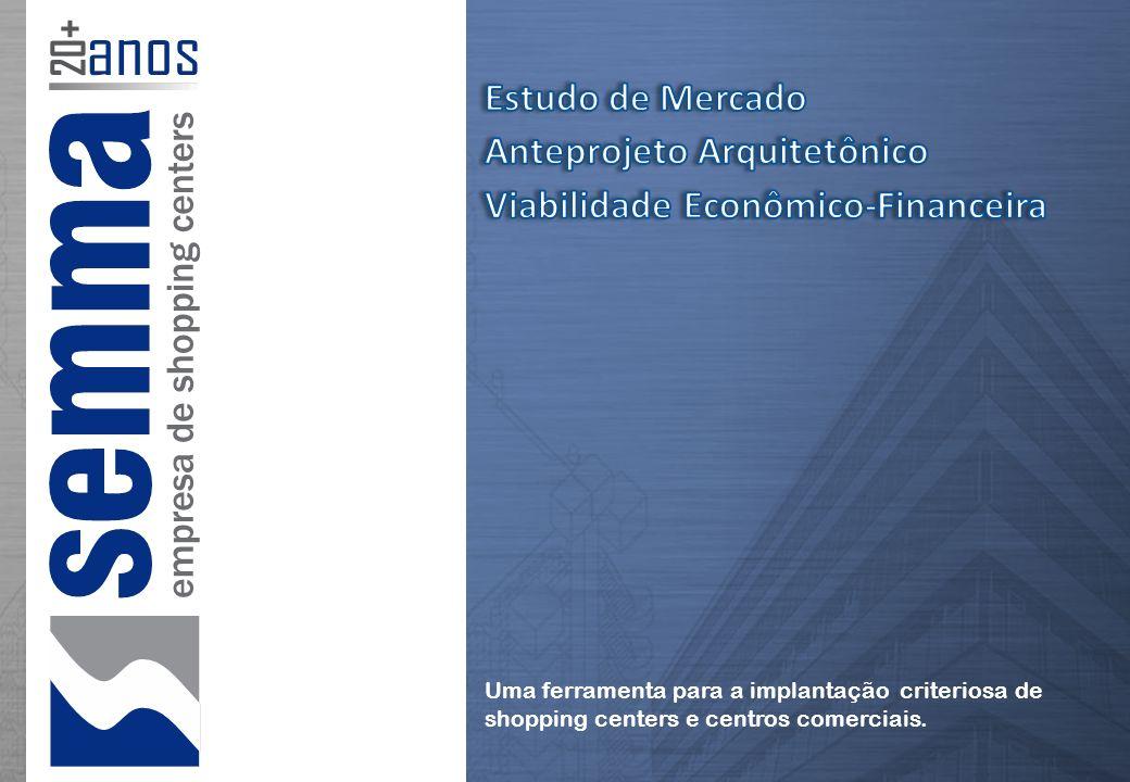 Estudo de Mercado Anteprojeto Arquitetônico Viabilidade Econômico-Financeira
