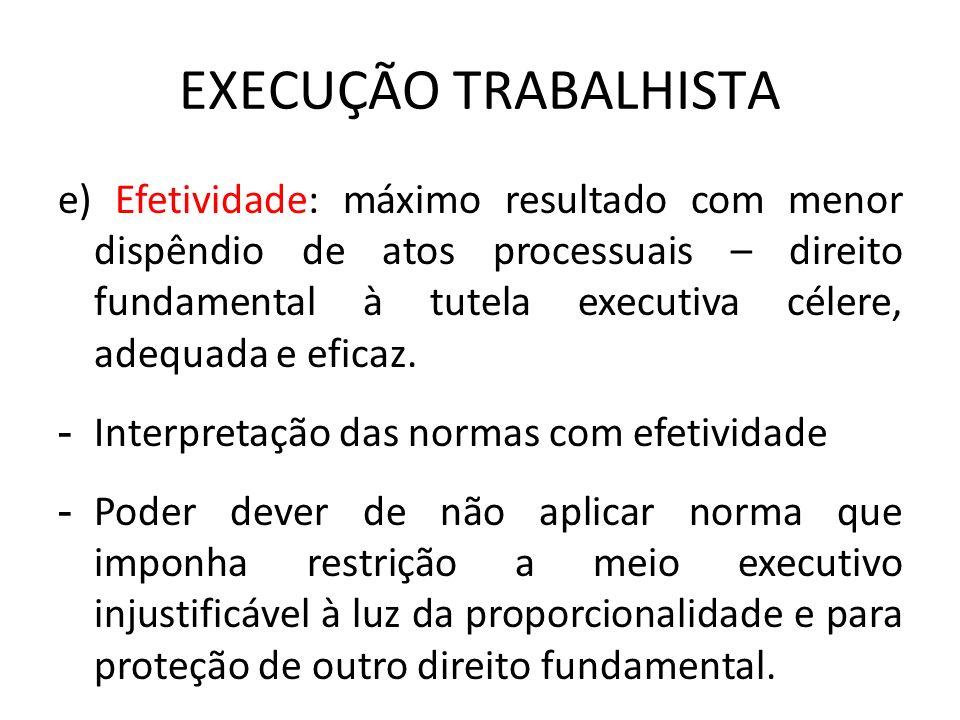 EXECUÇÃO TRABALHISTA