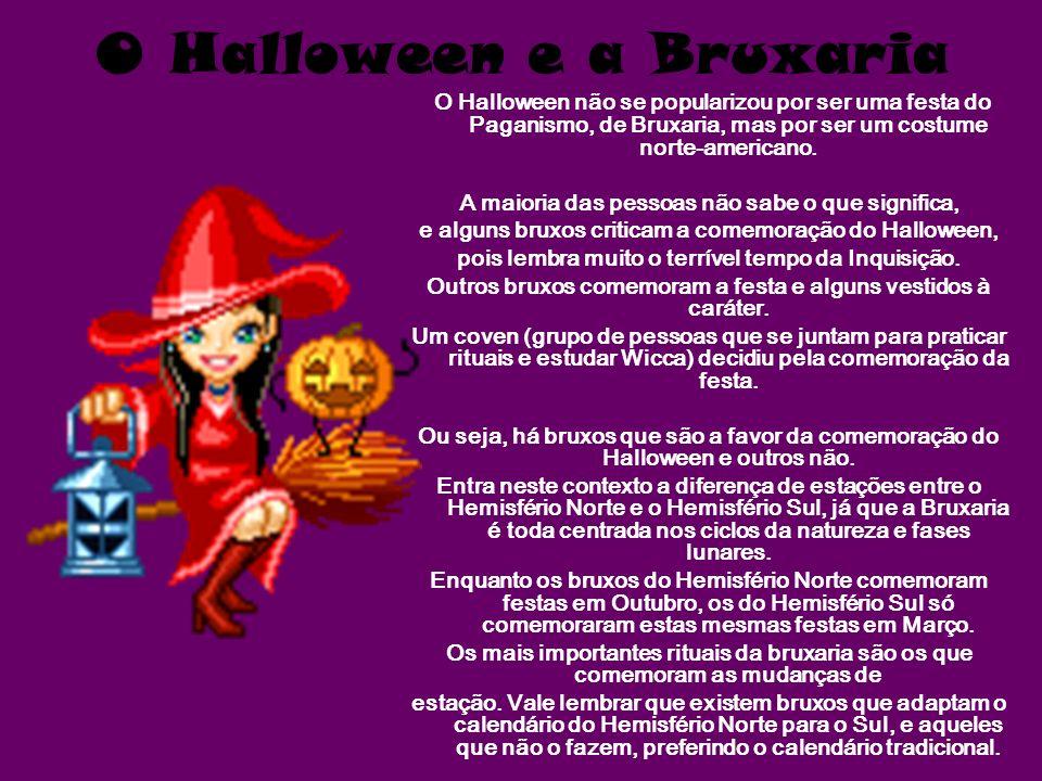 O Halloween e a Bruxaria