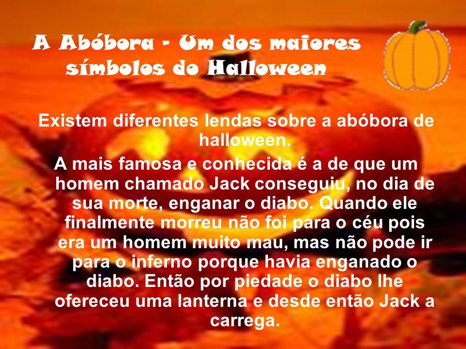 A Abóbora - Um dos maiores símbolos do Halloween