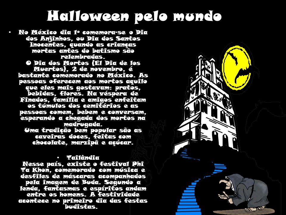 Halloween pelo mundo