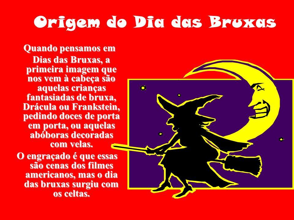 Origem do Dia das Bruxas