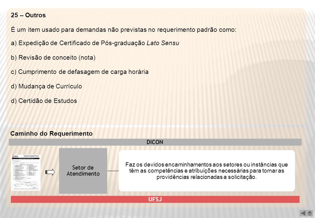 a) Expedição de Certificado de Pós-graduação Lato Sensu