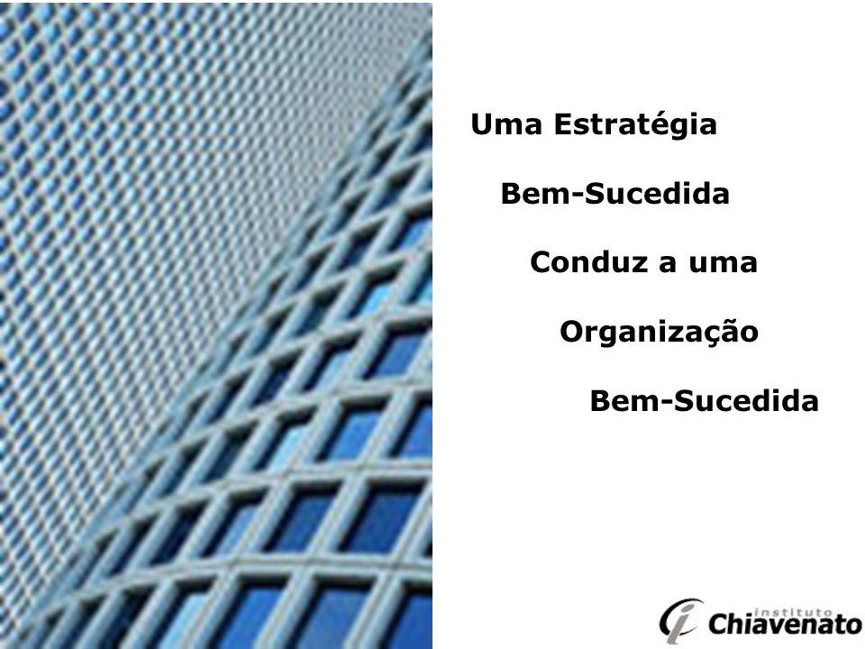 Uma Estratégia Bem-Sucedida Conduz a uma Organização