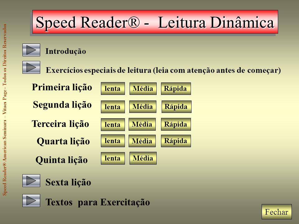 Speed Reader® - Leitura Dinâmica