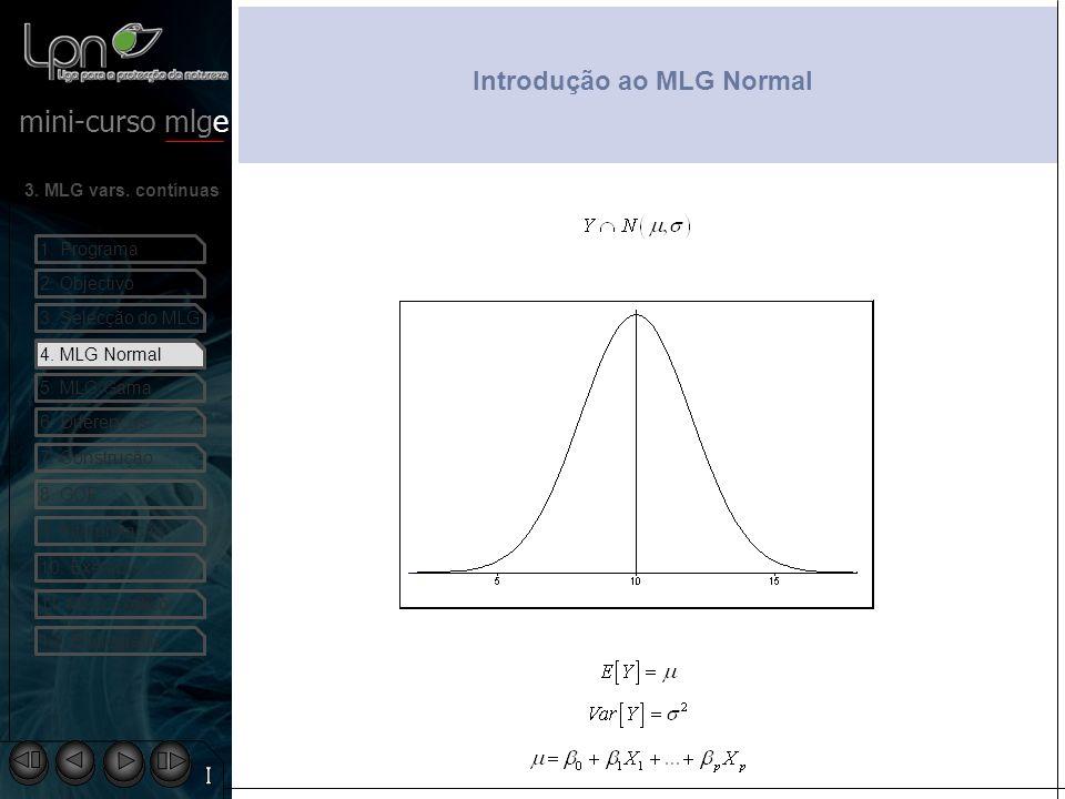 Introdução ao MLG Normal