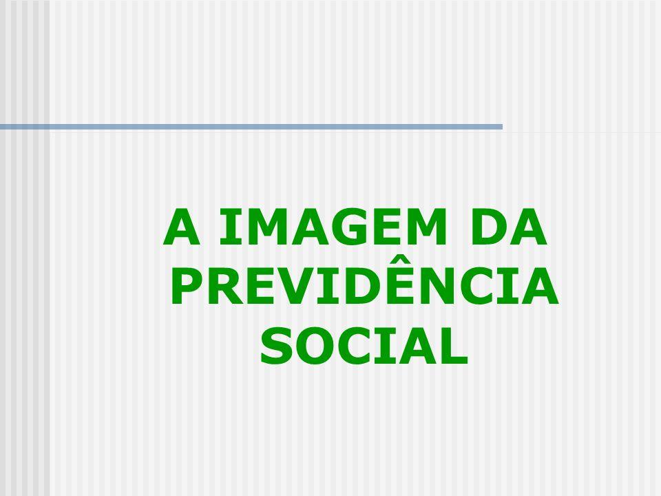 A IMAGEM DA PREVIDÊNCIA SOCIAL