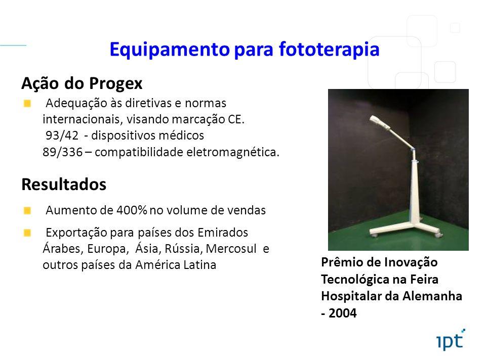Equipamento para fototerapia