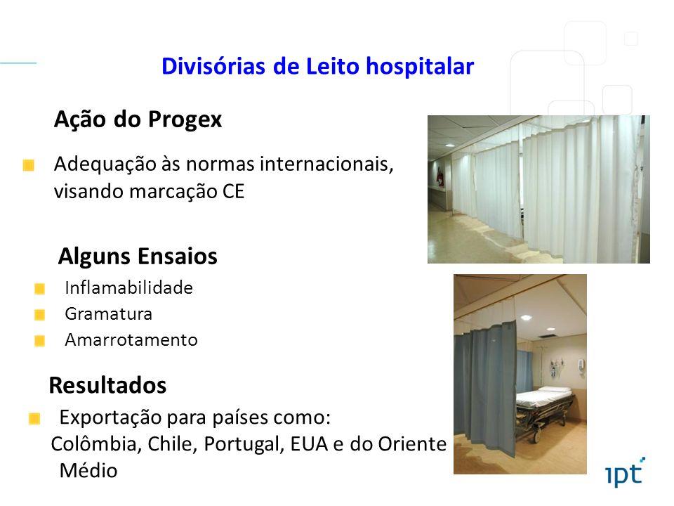 Divisórias de Leito hospitalar