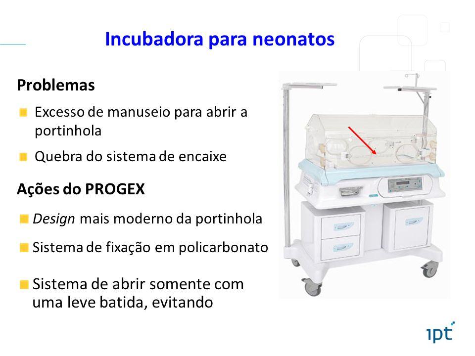Incubadora para neonatos