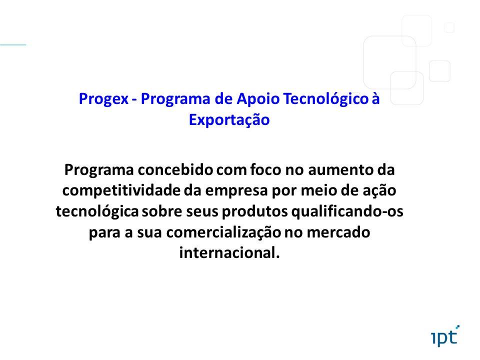 Progex - Programa de Apoio Tecnológico à Exportação