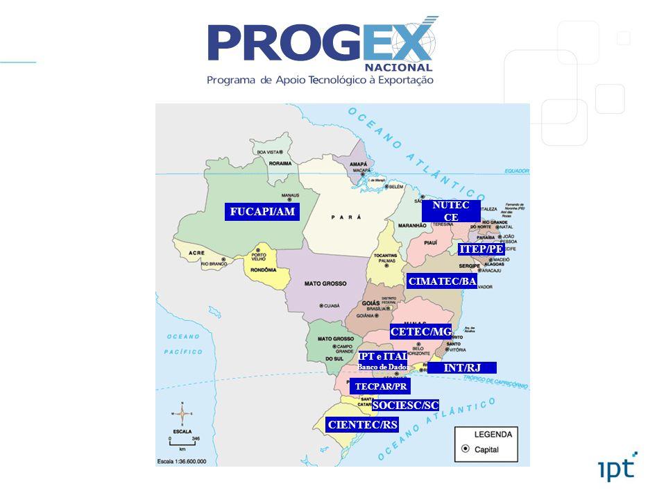 FUCAPI/AM ITEP/PE CETEC/MG INT/RJ SOCIESC/SC CIENTEC/RS