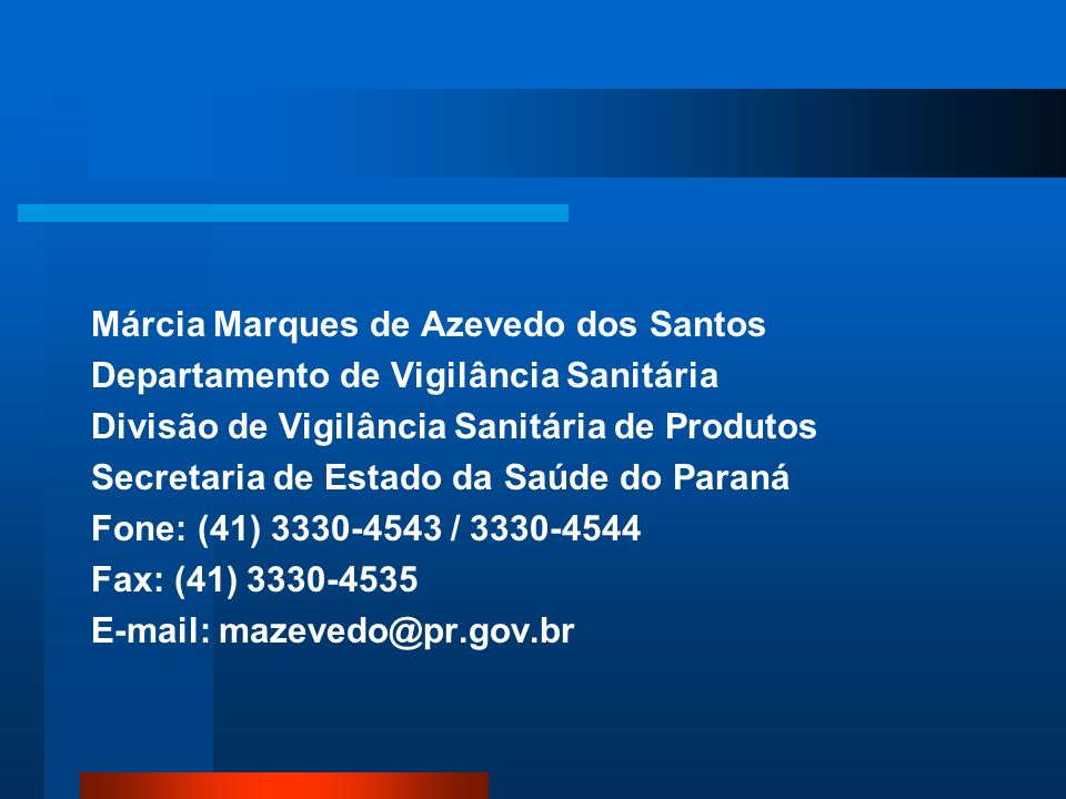 Márcia Marques de Azevedo dos Santos