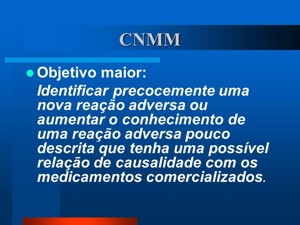 CNMM Objetivo maior: