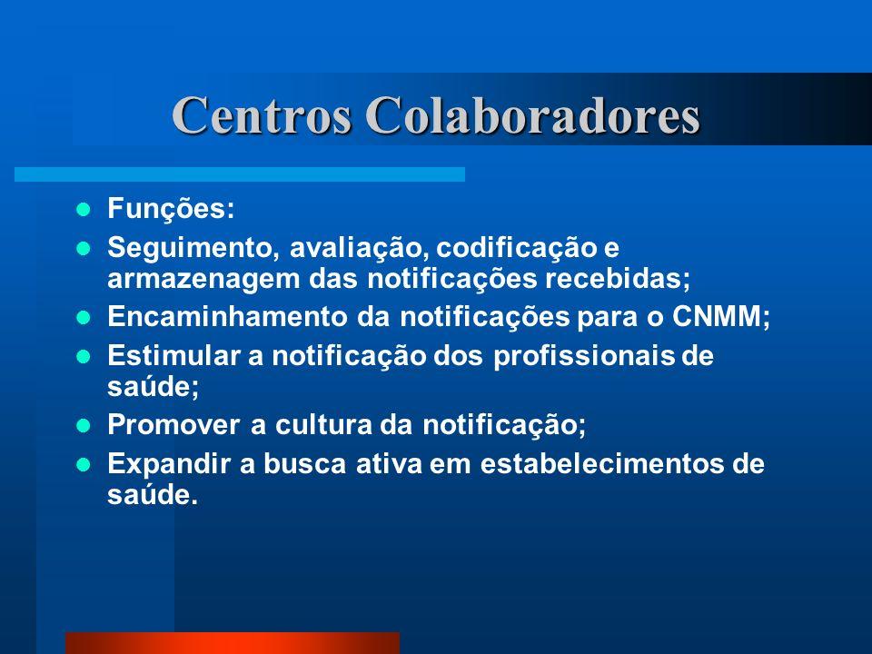 Centros Colaboradores