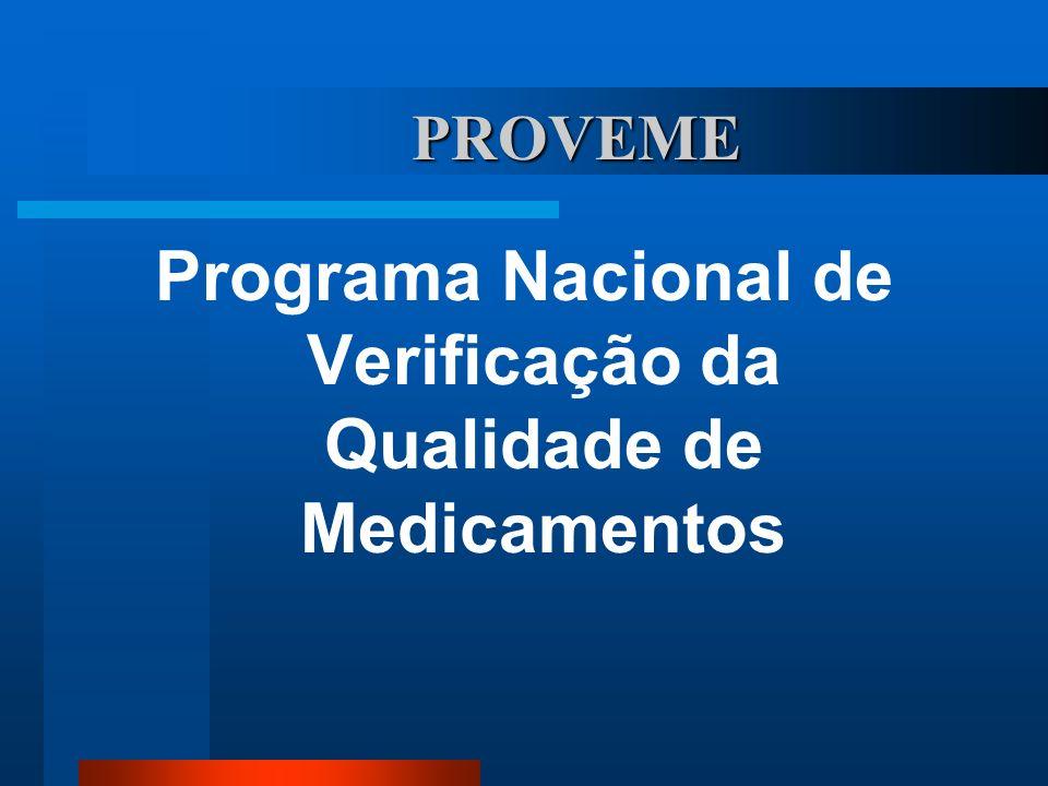 Programa Nacional de Verificação da Qualidade de Medicamentos