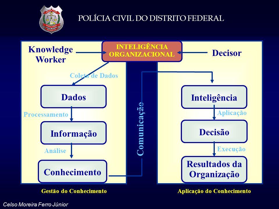 INTELIGÊNCIA ORGANIZACIONAL Resultados da Organização