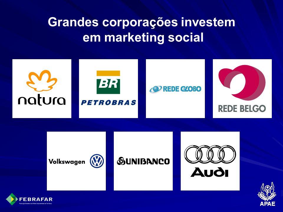 Grandes corporações investem