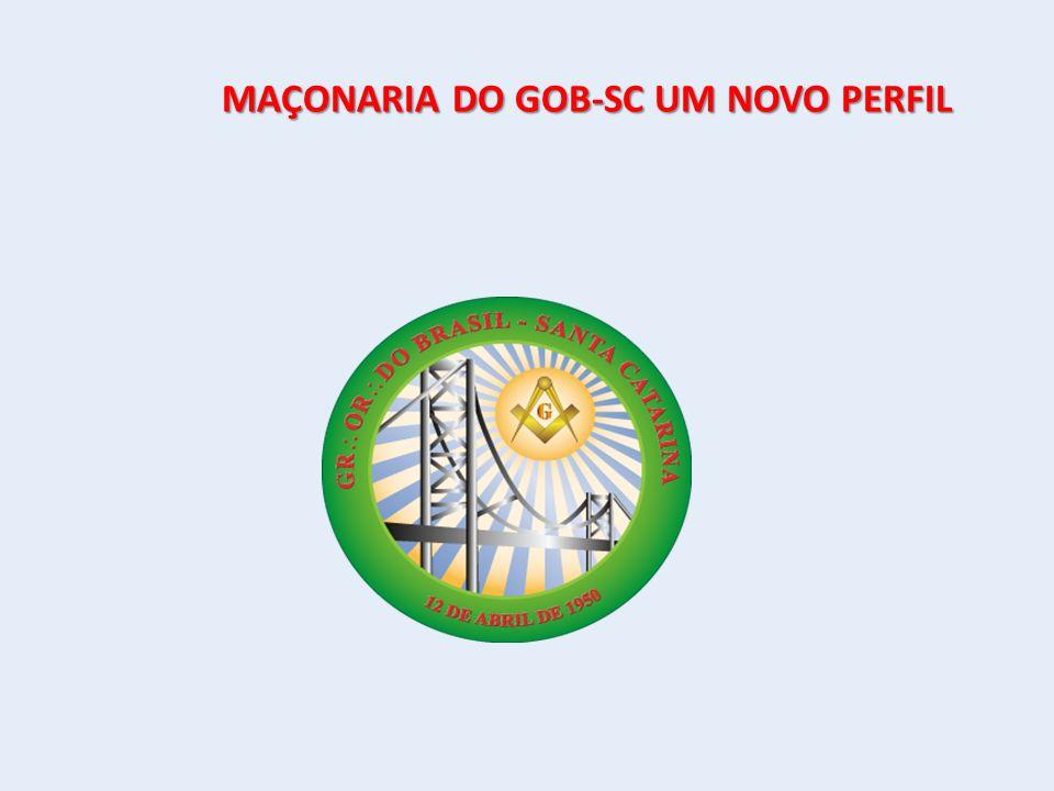MAÇONARIA DO GOB-SC UM NOVO PERFIL