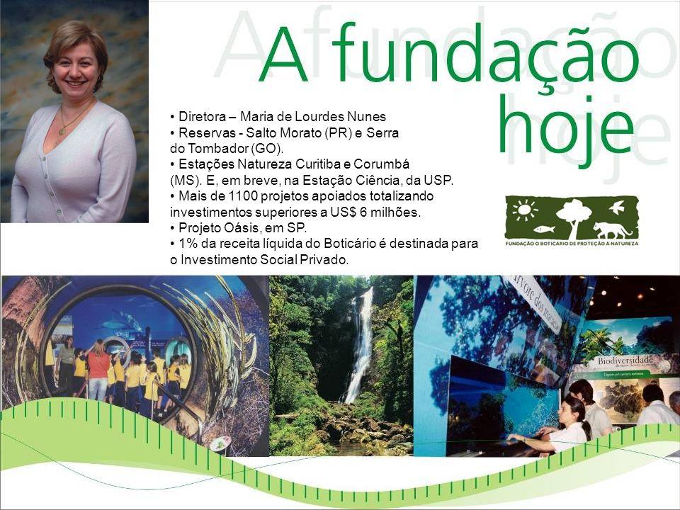 Diretora – Maria de Lourdes Nunes