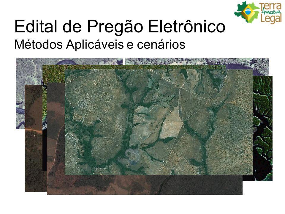 Edital de Pregão Eletrônico Métodos Aplicáveis e cenários