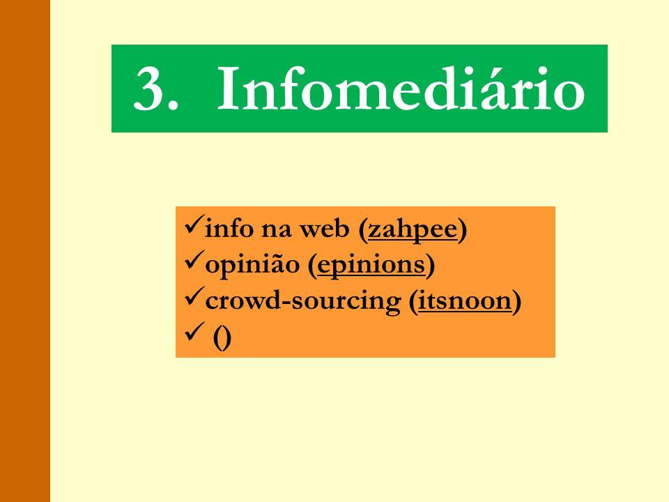 3. Infomediário info na web (zahpee) opinião (epinions)