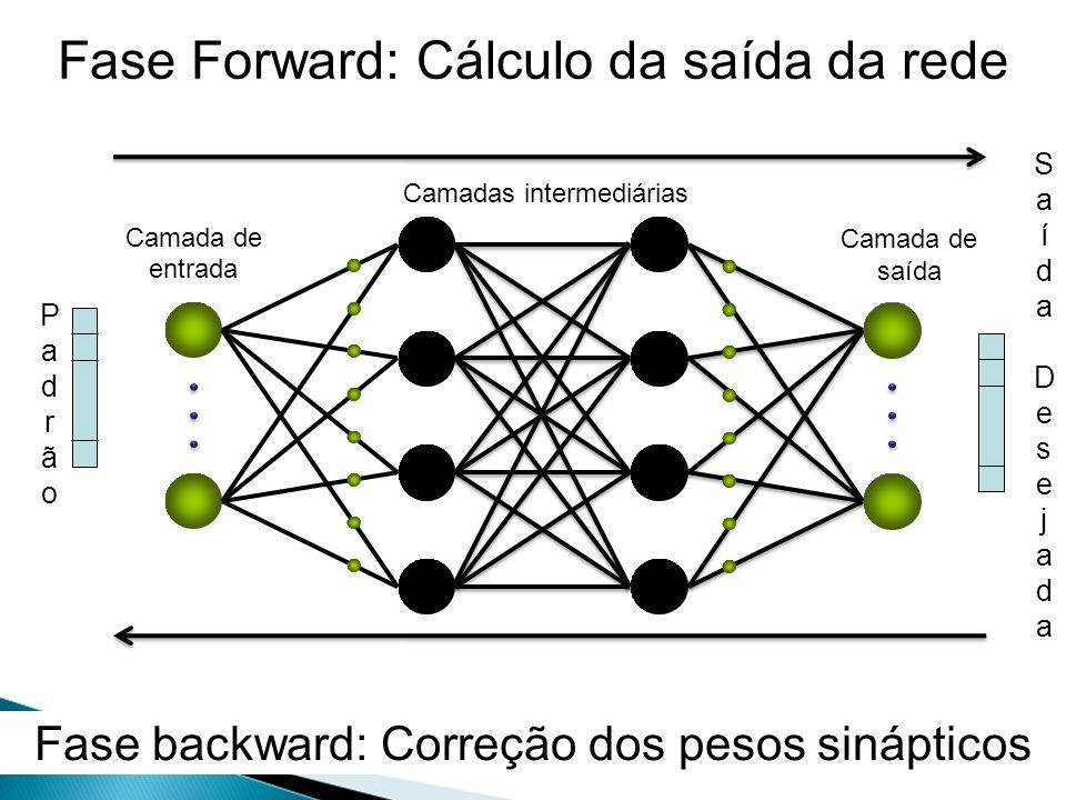 Fase Forward: Cálculo da saída da rede